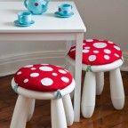 Muebles infantiles, 6 mesas de juego caseras