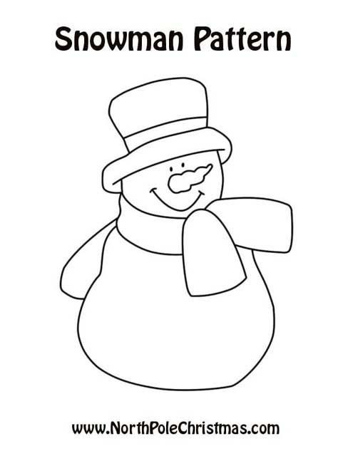 snowman coloring pages crayola back - photo#18