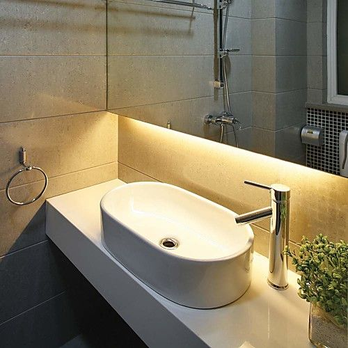 10m 2 5m 3528 600leds 8mm Waterproof Rgb 44keys Ir Remote Controller Flexible Led Light Strips Led Tape Lighting Modern Bathroom Lighting Led Bathroom Vanity Lights