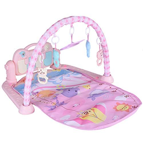 3 in1 Baby Gym Play Mat Lay/&Play Fitness+Music+Light Fun Piano Child Playmat ra