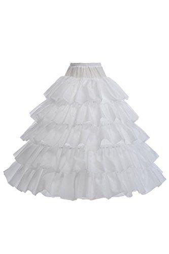 Topdress Women's A Line Floor Length Underskirt Petticoats Slips - http://www.darrenblogs.com/2016/08/topdress-womens-a-line-floor-length-underskirt-petticoats-slips/