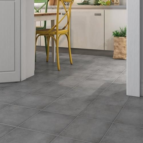 Tulsa Gray Ceramic Tile Grey Ceramic Tile Ceramic Tile Floor Kitchen Kitchen Floor Tile Patterns