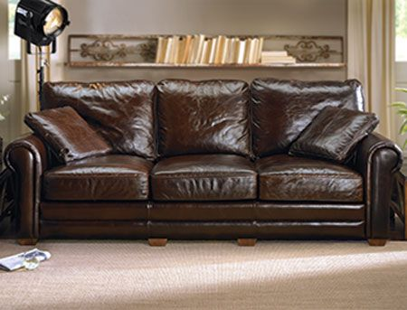 This 100 Vintage Brompton Leather Sofa With Extra Deep Cushions Is Now Half Price At The Dump Only 1 Pinteres