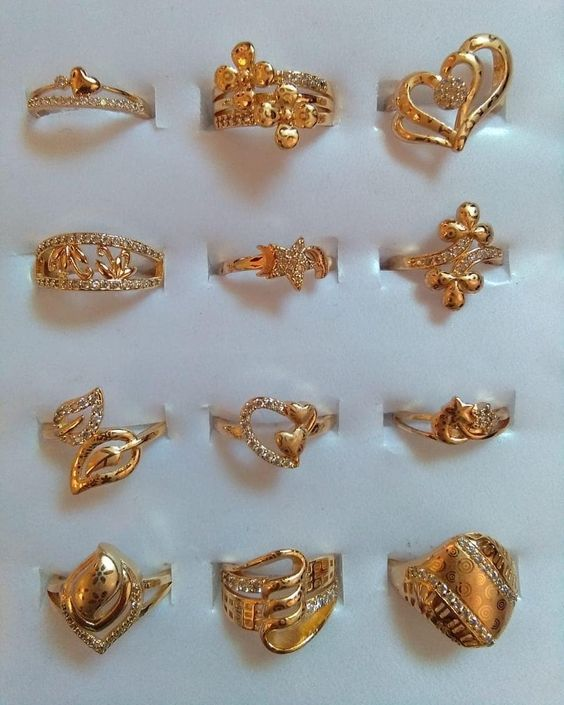 Jewelry In 2020 Gold Earrings Designs Gold Ring Designs Gold Jewelry Fashion