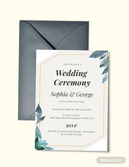 Formal Wedding Invitation Template Free Jpg Google Docs Illustrator Indesign Word Outlook Apple Pages Psd Publisher Template Net Wedding Invitation Format Wedding Invitation Cards Modern Wedding Invitations Templates