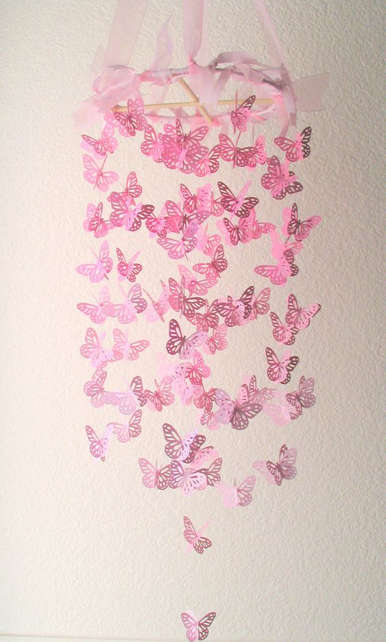 pink butterfly chandelier monarch butterfly chandelier. Black Bedroom Furniture Sets. Home Design Ideas