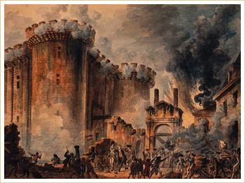 The Storming of the Bastille The fall of the Bastille in Paris on July 14, 1789 helped ignite the French Revolution: