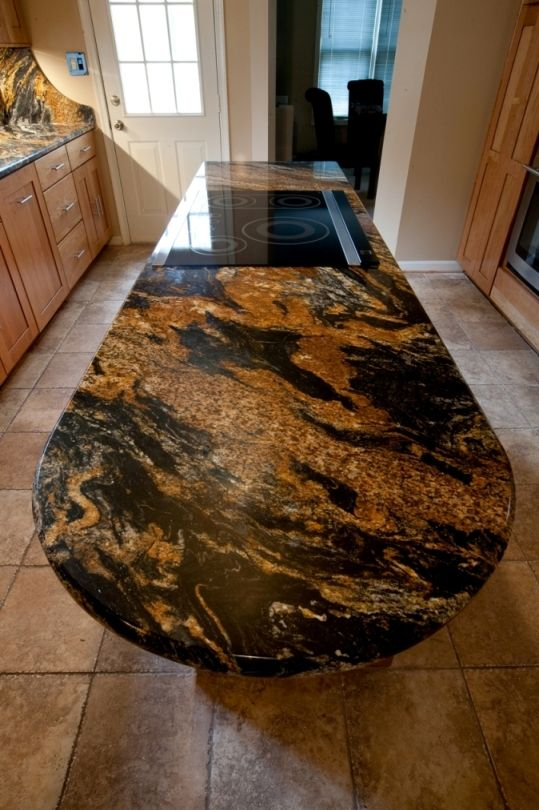 Magma Black Granite : Magma granite countertop by designing their house in