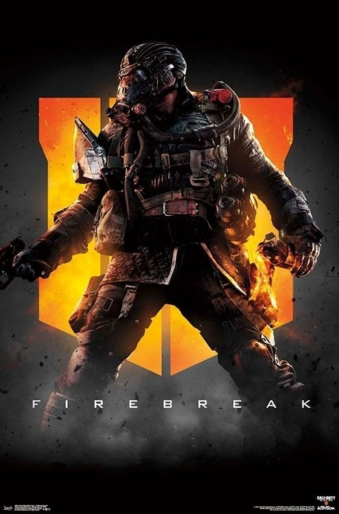 Call Of Duty Black Ops 4 Firebreak Key Art Poster Print 22 X 34 Poster Art Poster Prints Call Of Duty Black Ops 3