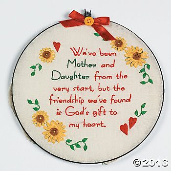 Daughter from mother mom poems embroidery mother for Short poems for daughters from mothers