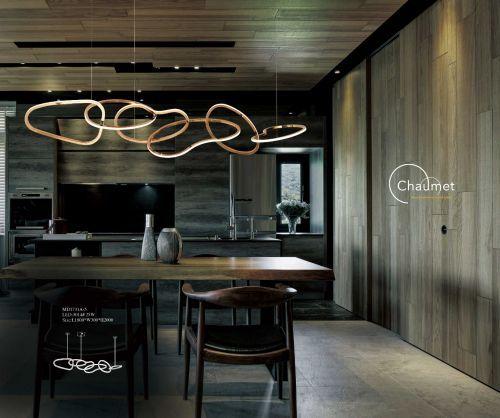 Ceaseless 6 Custom Linear Pendant Lighting Floor Lamp Design Niche Modern