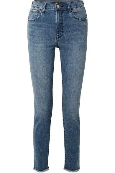 J Brand Ruby Dark Blue High-Rise Jean