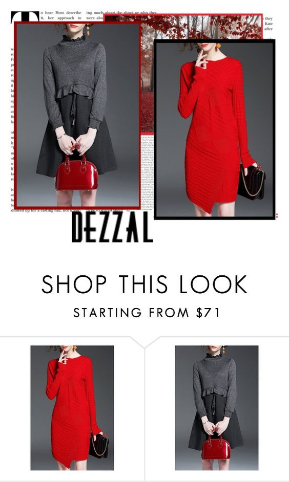 """""""DEZZAL 7"""" by julyete ❤ liked on Polyvore featuring POL"""