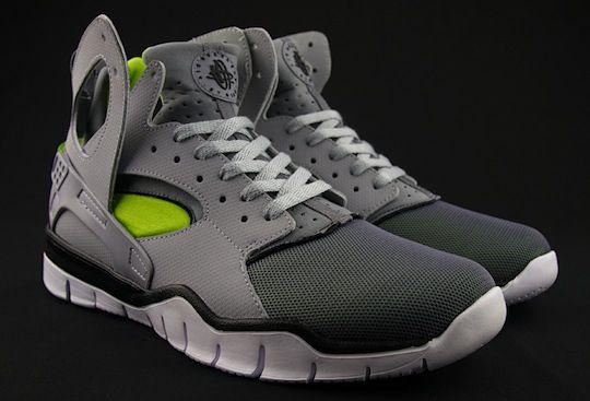 Nike Huarache Free Basketball Wolf Grey