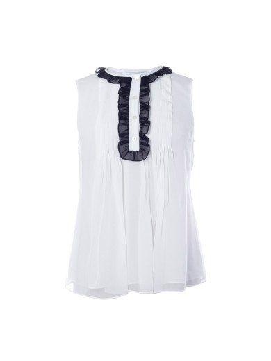 DIANE VON FURSTENBERG Diane Von Furstenberg Betsy Top. #dianevonfurstenberg #cloth #topwear