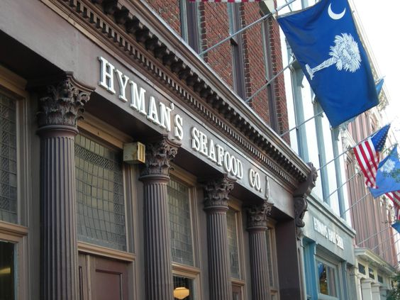 Hyman's Seafood    One of my favorite seafood places in Charleston.