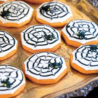 Spider web Cookies!