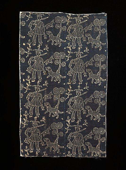 Textile fragment, Russian.  1600-1799.  Linen.  Metropolitan Museum of Art, Brooklyn Museum Costume Collection.