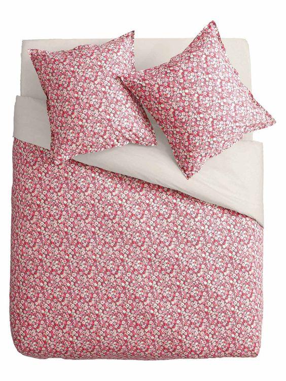 housse de couette taie d 39 oreiller drap housse uni parure boh me 123 linge de maison. Black Bedroom Furniture Sets. Home Design Ideas