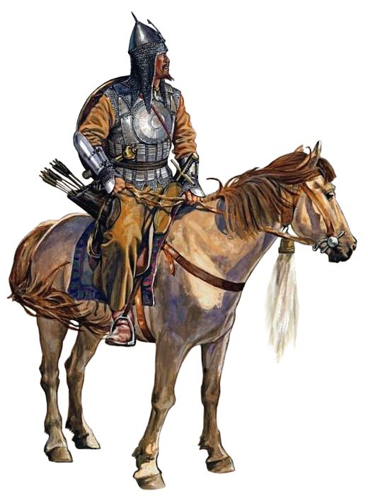 Tatar warrior, 17th century: