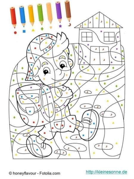 Malen Nach Zahlen Kinder Ab 5