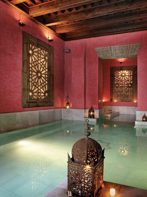 Baños: inspiración 'Morocco style'
