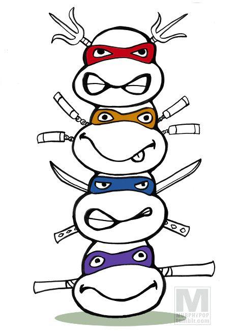 Teenage Mutant Ninja Turtles Totem Tristan S New Bday