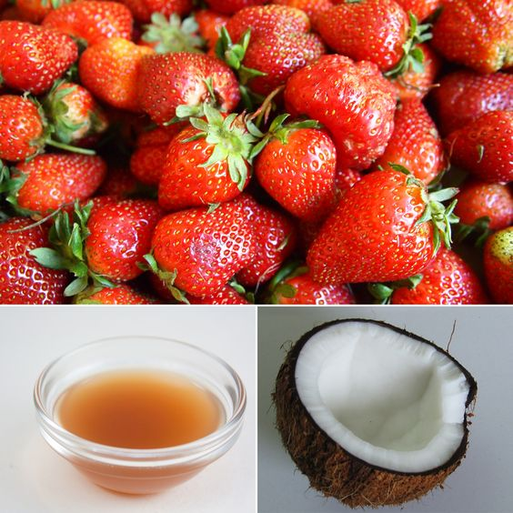 how to clean strawberries with apple cider vinegar
