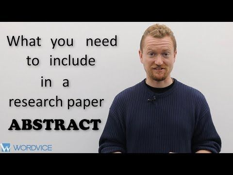 How To Write An Abstract For A Research Paper Youtube In 2020 Thesis Statement Best Essay Writing Service Argumentative Essay