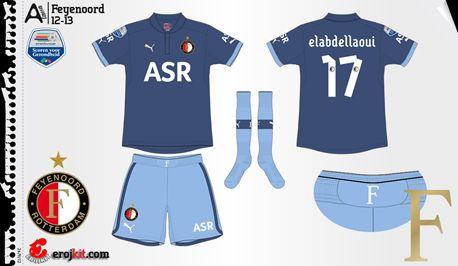 Feyenoord | away jersey | 2012-13