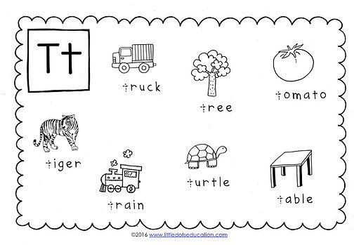 Preschool Letter T Activities And Worksheets Letter T Activities Kindergarten Letters Preschool Letters Letter t worksheets for preschool