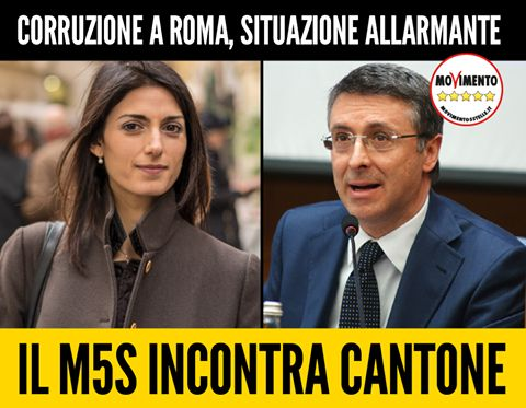 il popolo del blog,: CORRUZIONE A ROMA, INCONTRERO' CANTONE  L'ultima f...