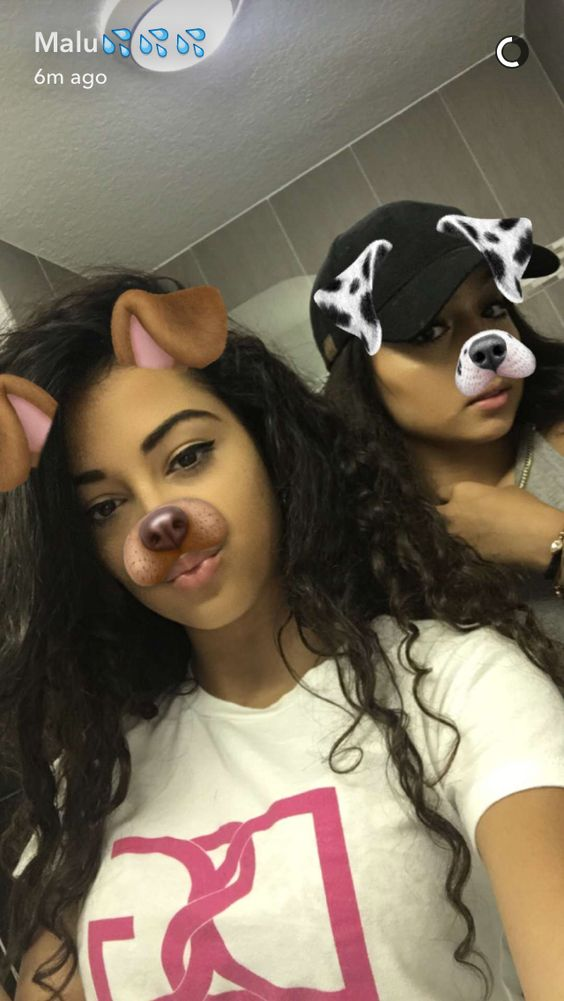 the siangie twins and malu the queens of puppy filter