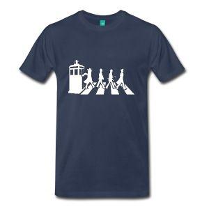 Doctor Who - Abbey Road  - Men's T-shirt - Men's Premium T-Shirt - Funny Tees - teessauce.com