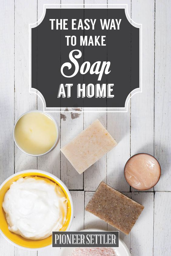 Life Hack: This is the easy way to make Soap At Home Naturally! You can make homemade soap without handling Lye. BONUS - It's simpler than you might think!