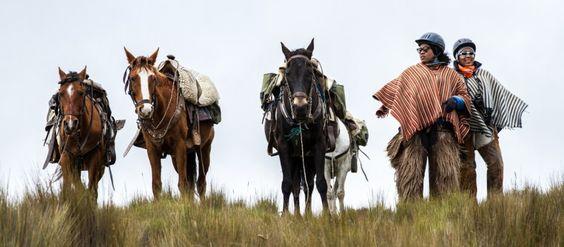 Riding in traditional garb at Tierra del Volcán's Hacienda El Porvenir. © ATTA / Hassen Salum