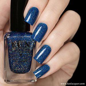 F.U.N. Lacquer- 2015 Summer- Blue Tears