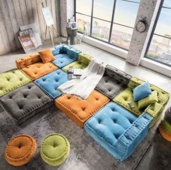 Wohnzimmerboden Kissen Grosse Kissen 58 Ideen Wohnzimmerboden
