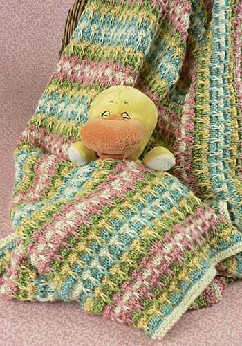 Free Knitting Pattern For Moss Stitch Baby Blanket : Pinterest   The world s catalog of ideas
