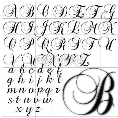 Worksheets Cursive A B C D Alphabet fancy cursive letter t abc alphabet background brock script design stock image and royalty