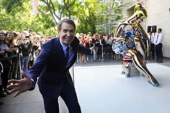 Jeff Koons showers MALBA with charisma - BuenosAiresHerald.com - Art-lovers flocked to Figueroa Alcorta Avenue yesterday, descending on the MALBA museum as Jeff Koons — widely considered by critics to be one of the most ...Stainless steel Ballerina unveiled in the 'right place at the right time,' artist tells BA audience Jeff Koons' stainless steel Ballerina, painted with lasers in specialized factories in Germany, was unveiled yesterday on the platform outside the MALBA (Museo