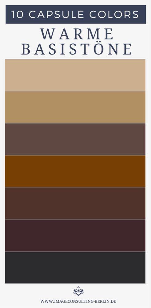 Capsule Colors Deine 10 Besten Farben In 2020 Grundfarben