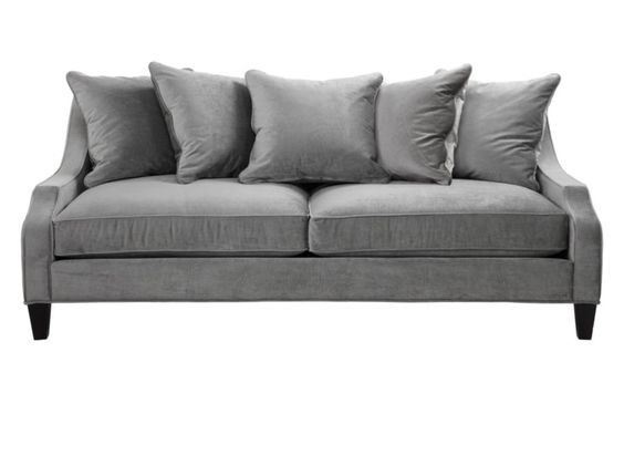 brighton sofa in charcoal by zgallerie <3