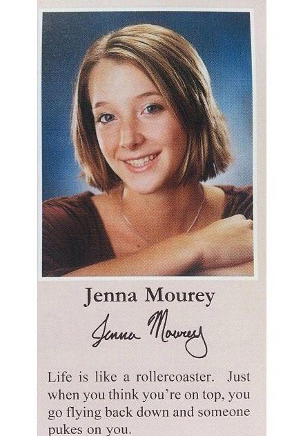 Jenna mourey, yearbook