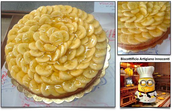 BA NA NA!!!!                 ----------------------BANANA, Biscottificio Innocenti, Minions, Torta di frutta