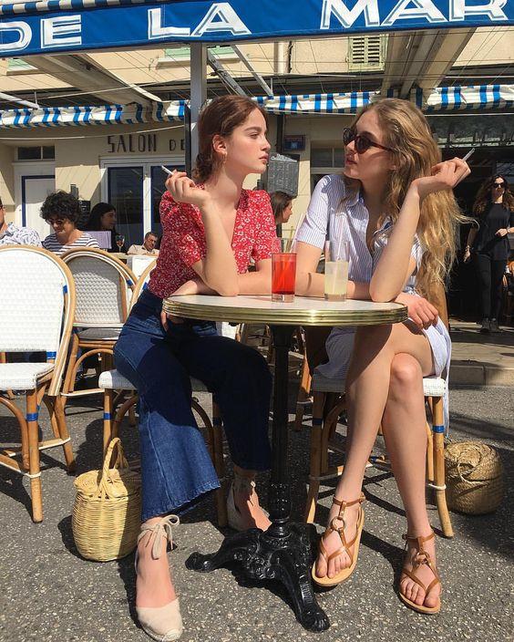 """좋아요 11.9천개, 댓글 75개 - Instagram의 Jeanne(@jeannedamas)님: """"@Rouje muses ☀️ @riccialexandra @adelefarine """""""