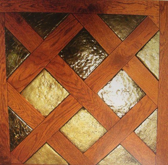 Oak & enameled terracota_by Pecchioli Ceramica