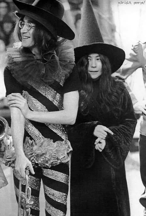 John & Yoko Halloween