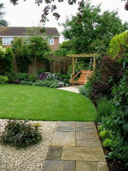 46 Eye Catching Landscape Backyard Garden Ideas