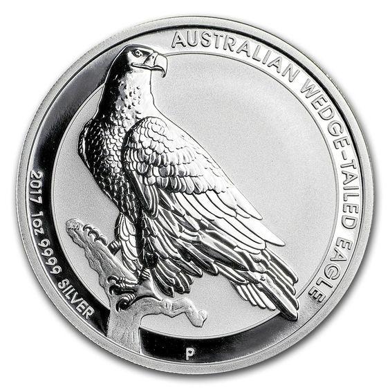 2017 Australia 1 Oz Wedge Tailed Eagle Silver Bu Wedge Tailed Eagle Silver Coins Coin Art